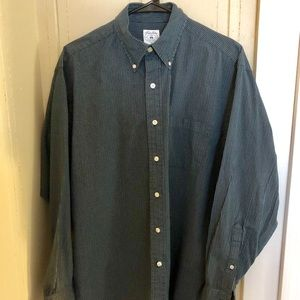 Brooks Brothers Checked Sport Shirt (M)